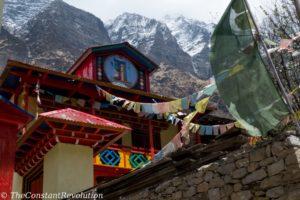 A Gumpa - Tibetan monastery - on the circuit
