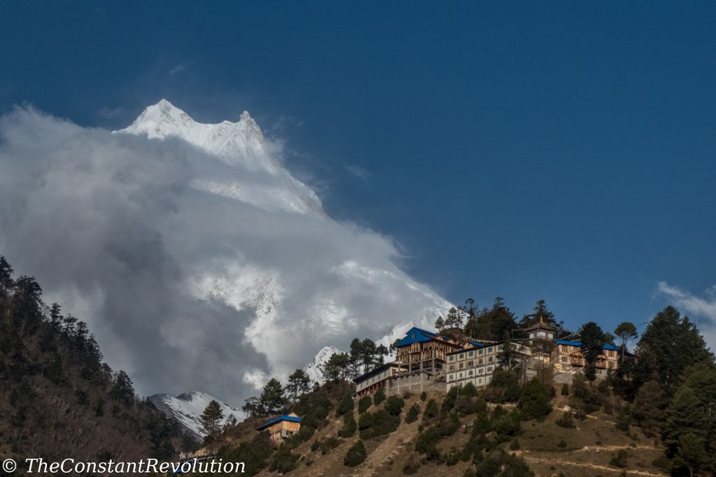 View on Manaslu from LHO