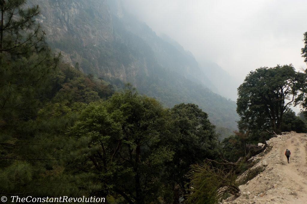 End of Manaslu trek