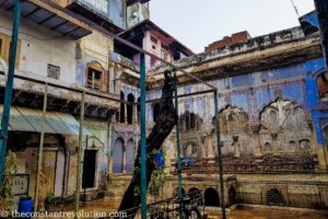Decadent Mughal era mansion - Old Delhi