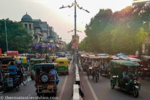 Old Delhi traffic