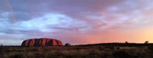 australia-uluru-sunset