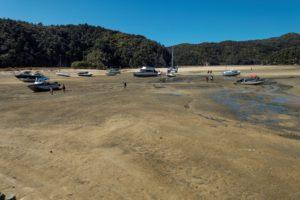 Abel Tasman - low tide passage