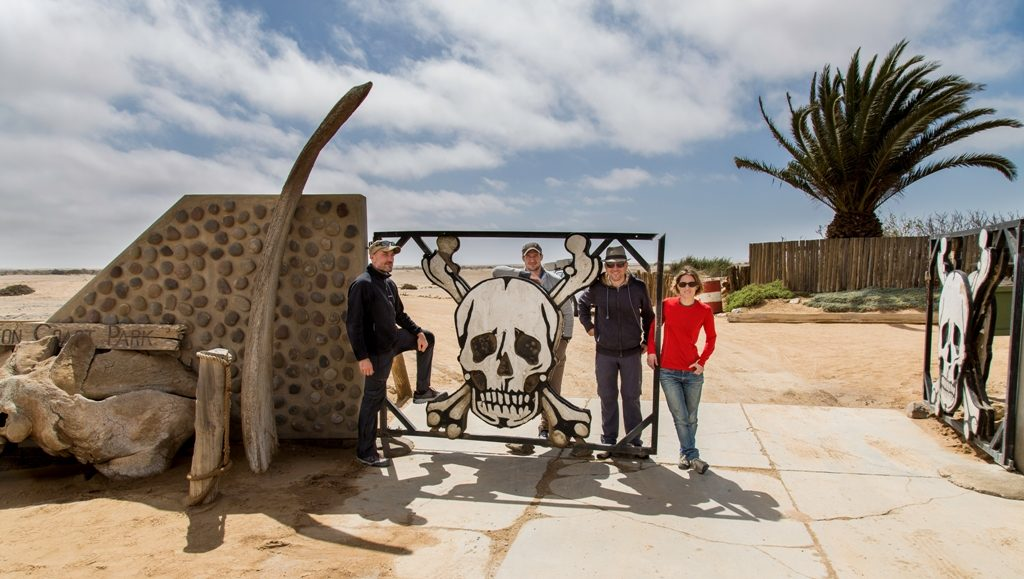 entrance of skeleton coast