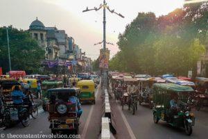 Old Delhi traffic
